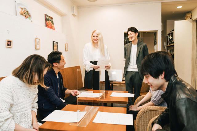 1回完結型の英会話教室 MONO CLASS